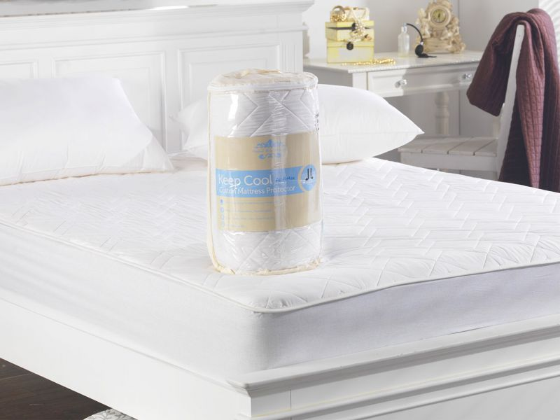 Keep Cool Cotton Mattress Protector