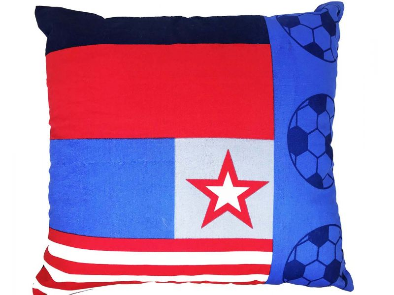 Football Theme Cushion Cover | 55cm x 55cm