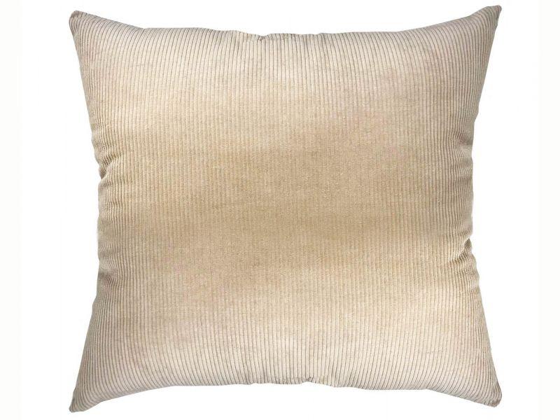 Natural Corduroy 100% Cotton Cushion | 55cm x 55cm