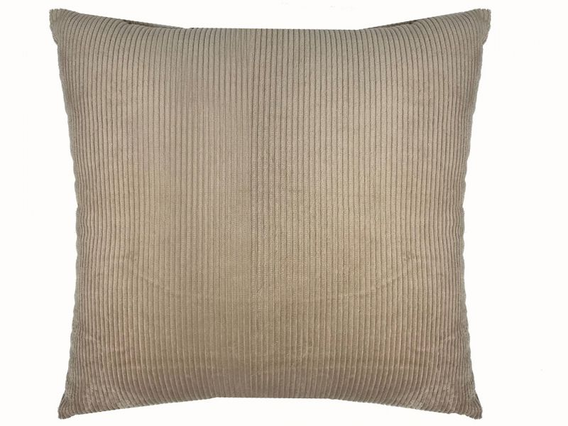 Beige Cord Cushion | 45cm x 45cm