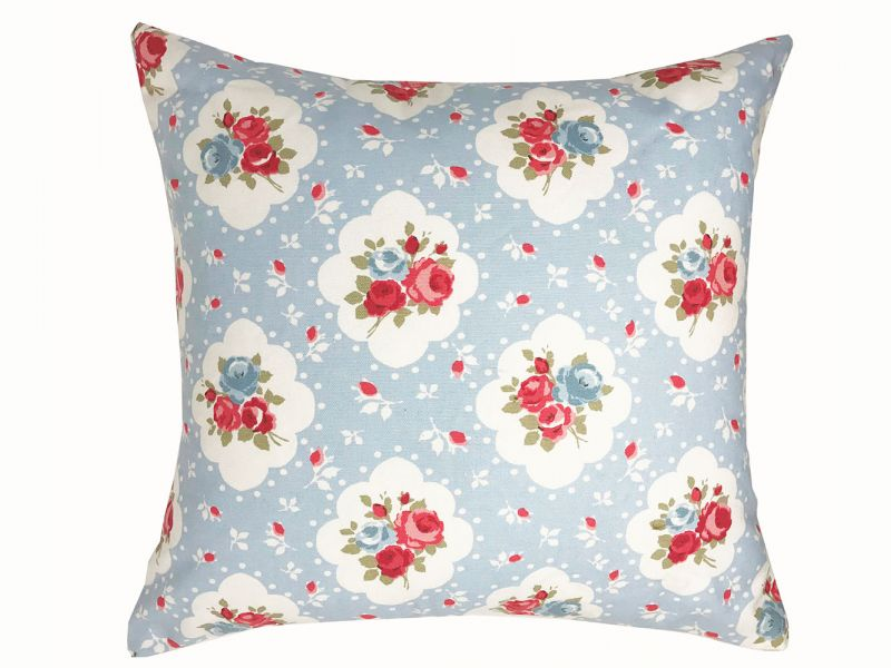 Reversible Rosetta Rose Cushion Cover | 43cm x 43cm