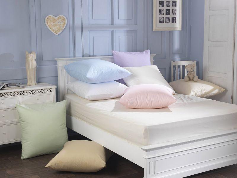 65cm Cotton Blend Continental Pillowcase Pair