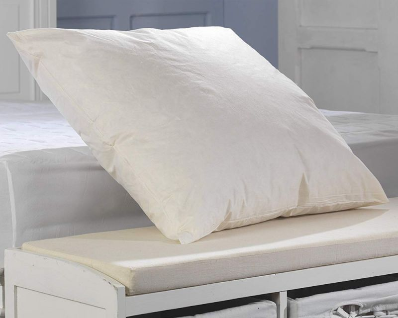 65cm Duck Feather Continental Pillow