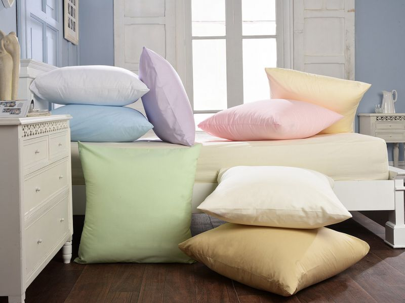 80cm Blended Cotton Continental Housewife Pillowcase
