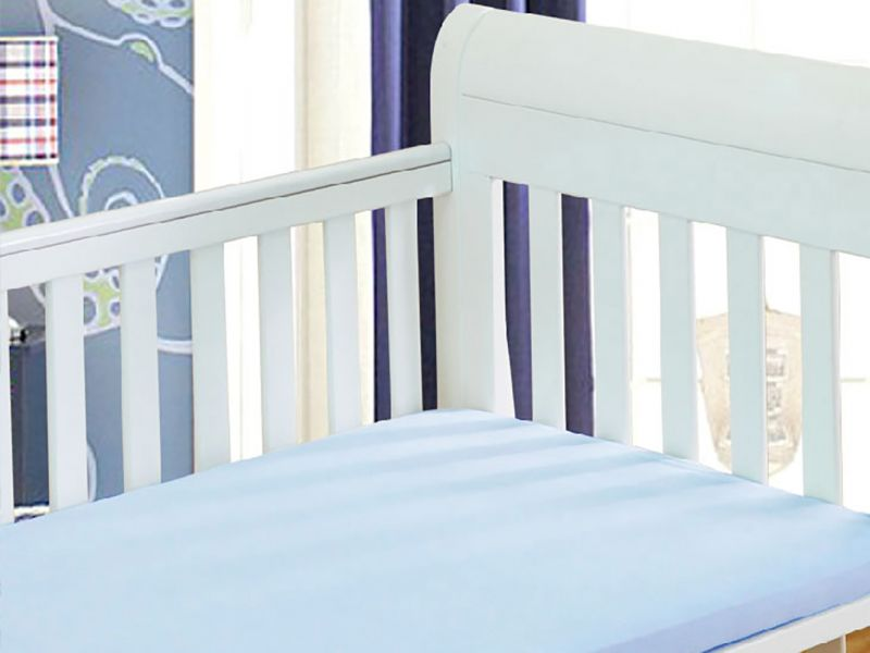 Brushed Cotton Fitted Cot Bed Sheets