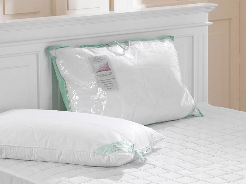 Luxury 300TC Quilted Bamboo Pillow