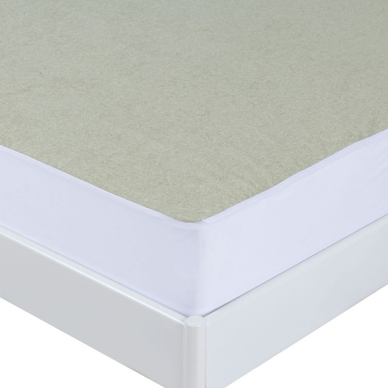 Copper Infused Bamboo Terry Waterproof Mattress Protector