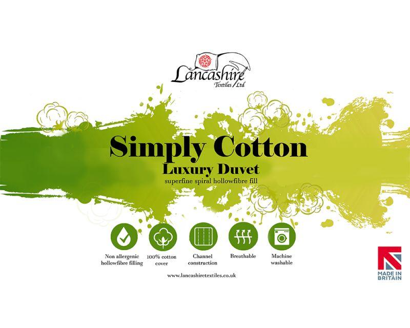 10.5 tog Luxurious Cotton Duvet