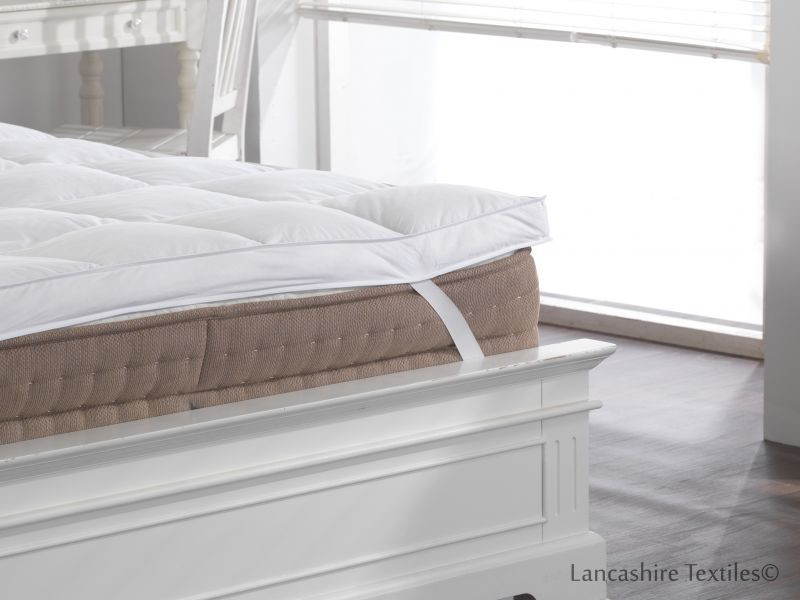 100% Duck Feather Extra Thick Mattress Topper