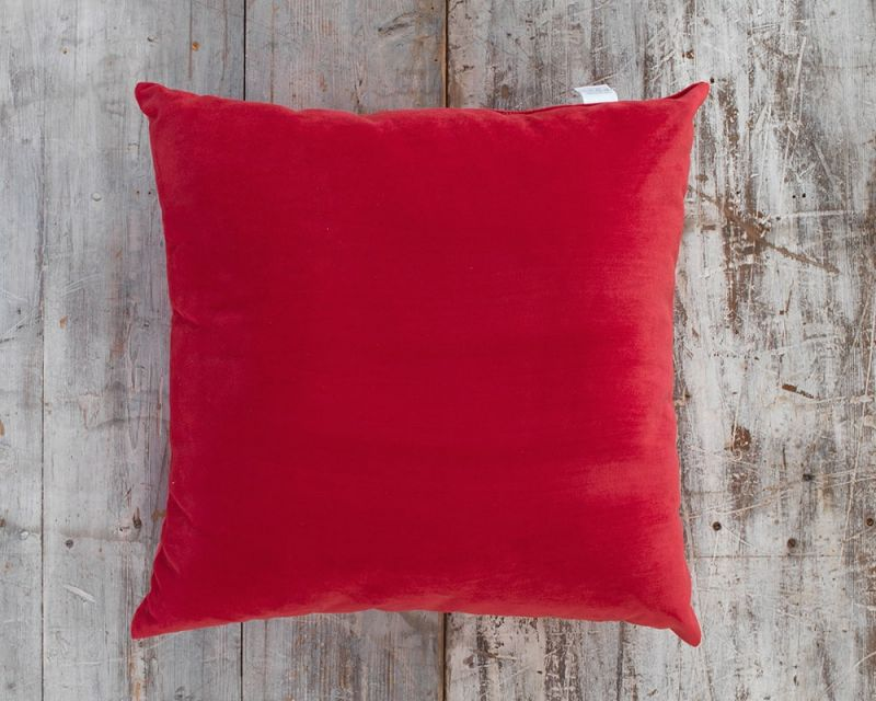 Outdoor Water Resistant Cushion | 65cm x 65cm - Electric Red