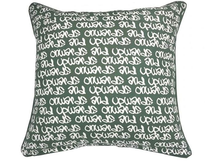 Onwards and Upwards Graffiti Cushion Cover | 45cm x 45cm