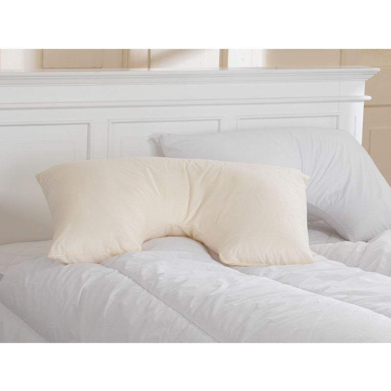 Inset Spine Align Side Sleeper Pillow & Pillowcases