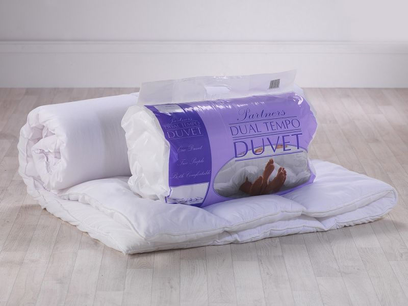 Dual Tempo Two Tog (14 and 7tog) Duvet