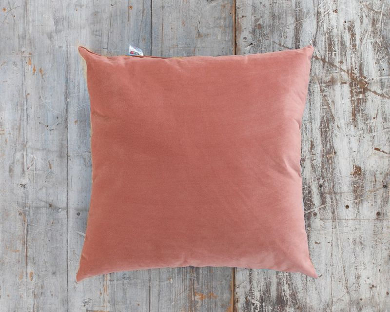 Outdoor Water Resistant Cushion | 65cm x 65cm - Salmon