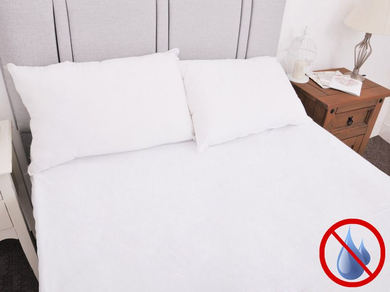Terry Towelling Waterproof Fitted Mattress Protector