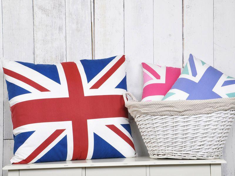 Union Jack Hollowfibre Cushions | 64 x 55cm or 45cm x 35cm