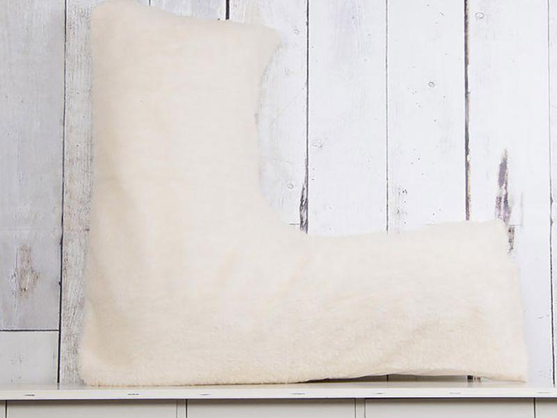 V Shape Pillowcase in Faux Fleece