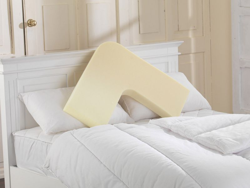 V Shaped Memory Foam Pillow with 2 Pillowcases