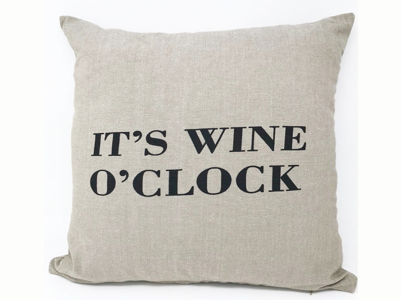 It's Wine O'Clock Cushion Cover | 43cm x 43cm