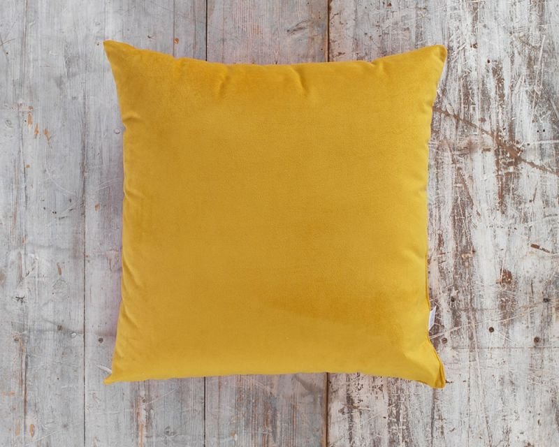 Outdoor Water Resistant Cushion | 65cm x 65cm - Sunbright Yellow